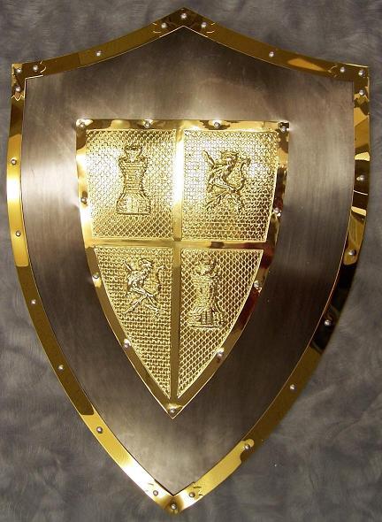 Armor Shield Knight Templar Ring 9 – BemBig