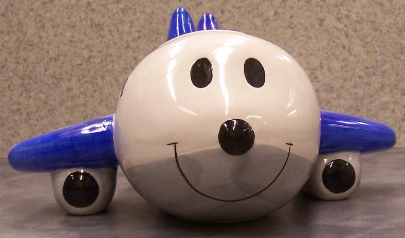 Jpg Airplane Cookie Jar