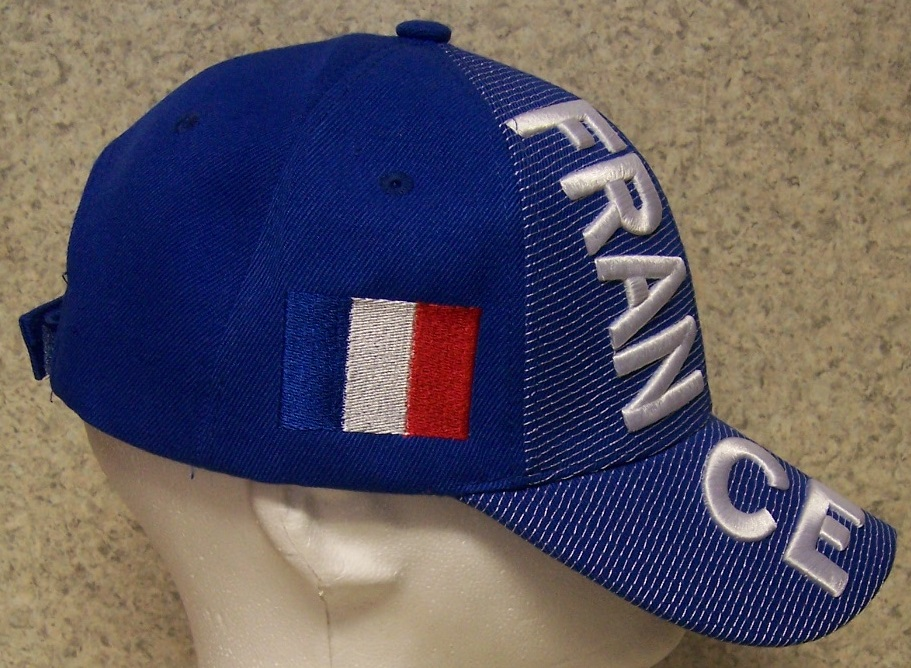 Embroidered Baseball Cap Soccer International France FFF Football ... 3d617babefd