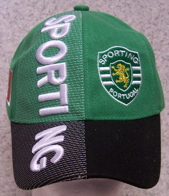 64d7bccebbe The front of the cap features the emblem of the Sporting Clube de Portugal  while the side of the cap features the Portuguese national flag.