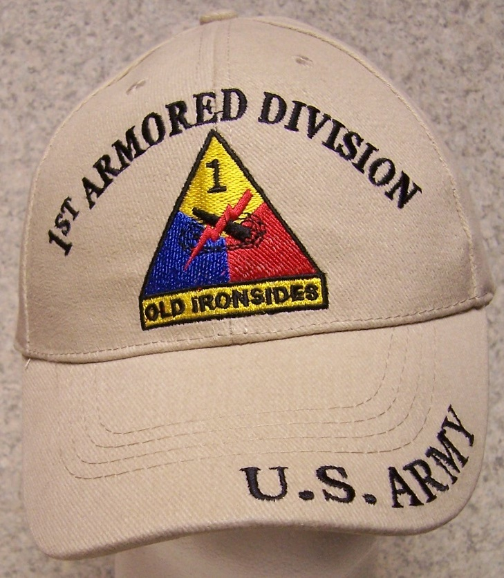 Embroidered Baseball Cap Military Army 3rd Armored Cavalry NEW 1 size fits all