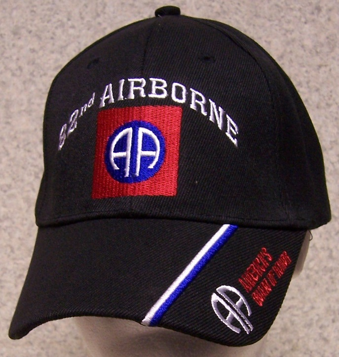 Embroidered Baseball Cap Military Army 82nd Airborne Division NEW 1 ... 12a878d7001