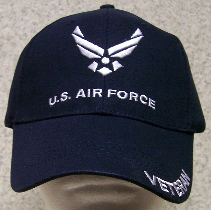 f924a8d6b9 Air Force Veteran Just one of the many Caps we offer saluting the brave Men  and Woman who stand In Harm s Way
