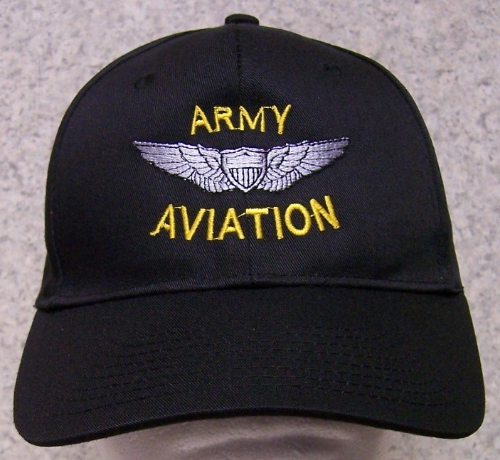 Embroidered Baseball Cap Military Army Aviation NEW 1 hat size fits ... c52f747c42c