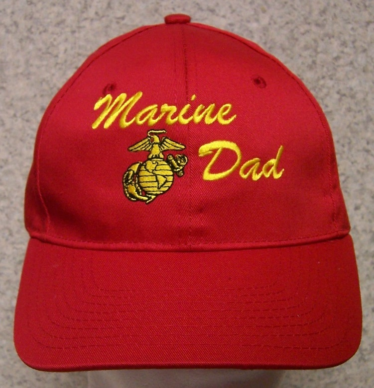 943d48a9cd4e6 Embroidered Baseball Cap Military Marine Dad NEW 1 hat size fits all ...