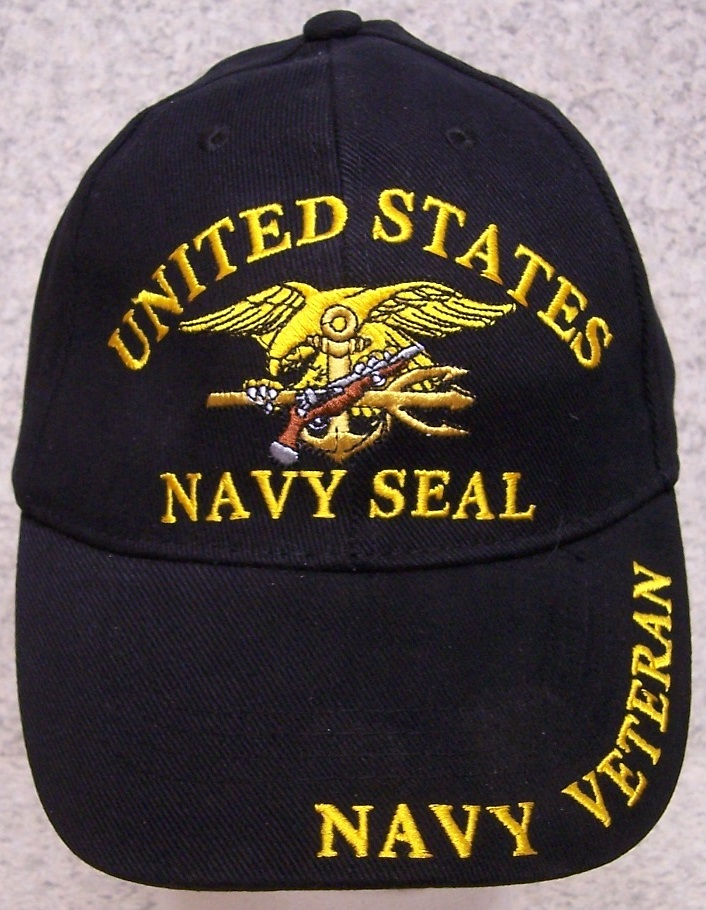66bb0efe552 ... Baseball Cap saluting the U S Navy SEAL Just one of the many hats we  offer commemorating the men and women who stand in harm s way.
