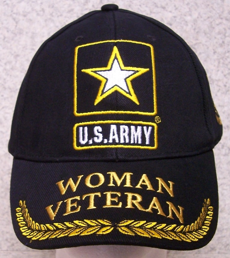 3e3c778362f Army Veteran Just one of the many Caps we offer saluting the brave Woman  who stand In Harm s Way