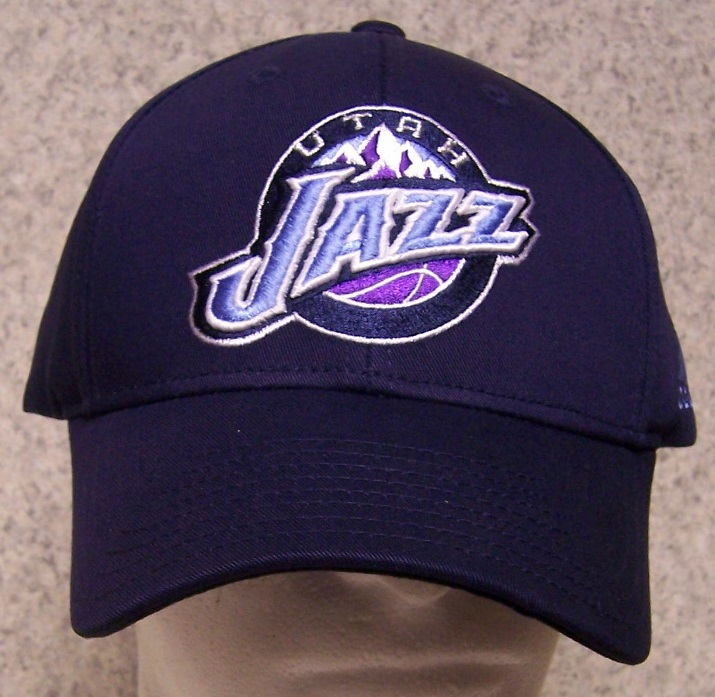 Embroidered Baseball Cap Sports NBA Utah Jazz NEW 1 hat size fits ... f635cd4fe374