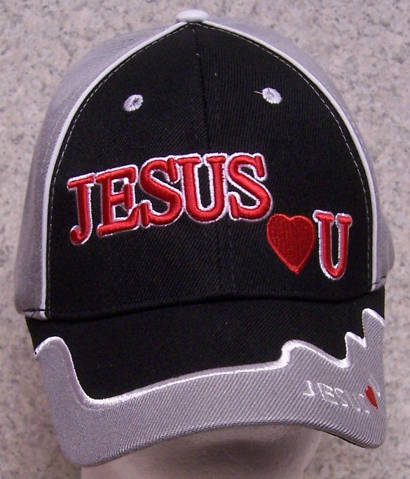 """/"""" I LOVE JESUS /"""" Adjustable One Size Fits All Baseball Cap Hat Cotton Brand NEW1"""