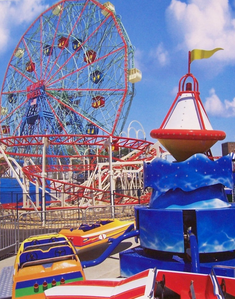 PuzzleBug 500 Piece Puzzle ~ Amusement Park Fun