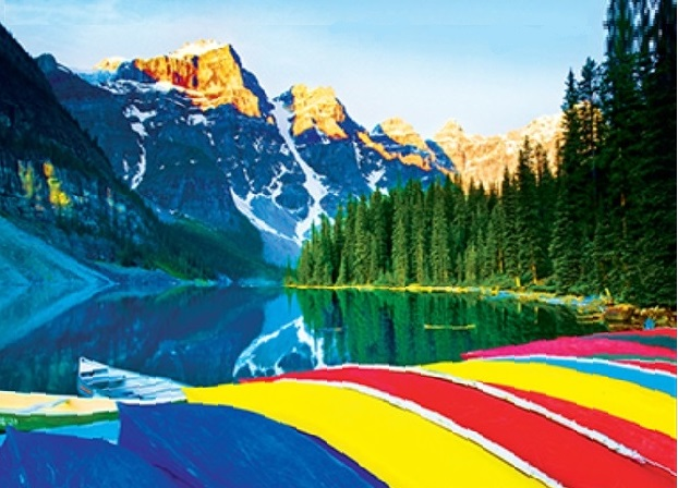 Details About Jigsaw Puzzle International Moraine Lake Banff Park Alberta Canada 1000 Piece Nw