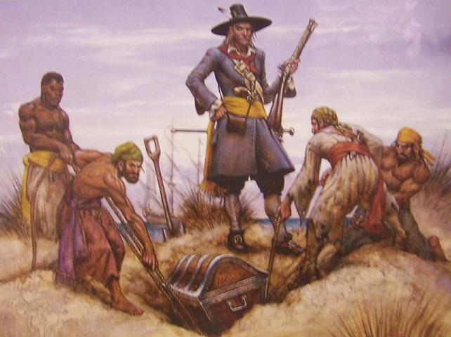 Captain Kidd Pirates Life Boxed Puzzle