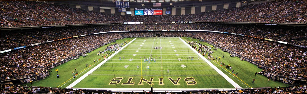 New Orleans Saints Mercedes Benz Superdome Call It In The Air !