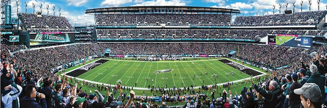 43bc578f Details about Jigsaw puzzle NFL Philadelphia Eagles Stadium NEW 1000 piece