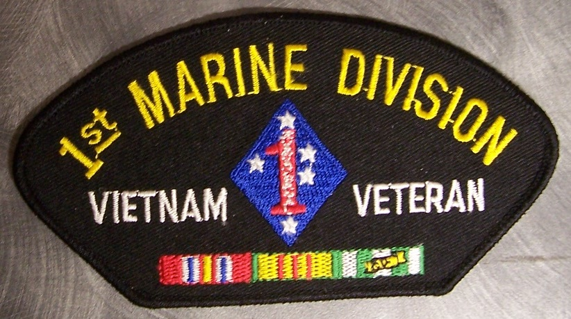 Embroidered Military Patch Vietnam USMC Marine Corps Shoulder tab NEW Overig