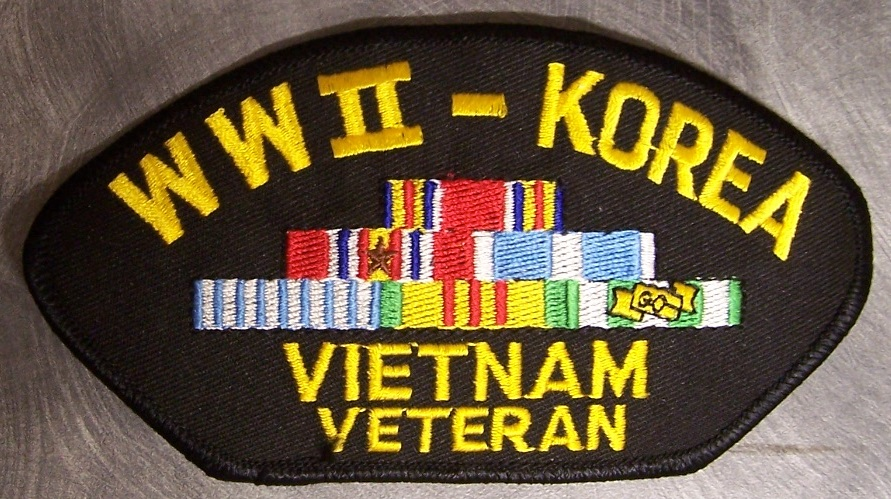 """3/""""  VIETNAM WAR Embroidered Military Patch"""