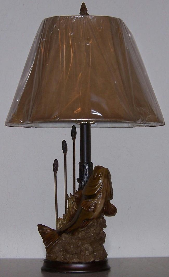 Directory inventorytable lampsrustic cabin jpg bass fish table lamp cl697r aloadofball Images